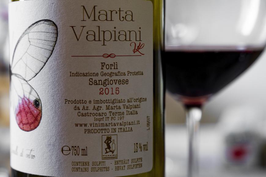 Marta Valpiani, il Sangiovese che giova