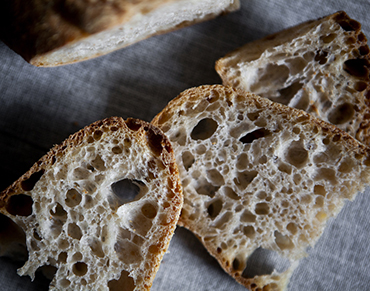Pane a fermentazione naturale con licoli