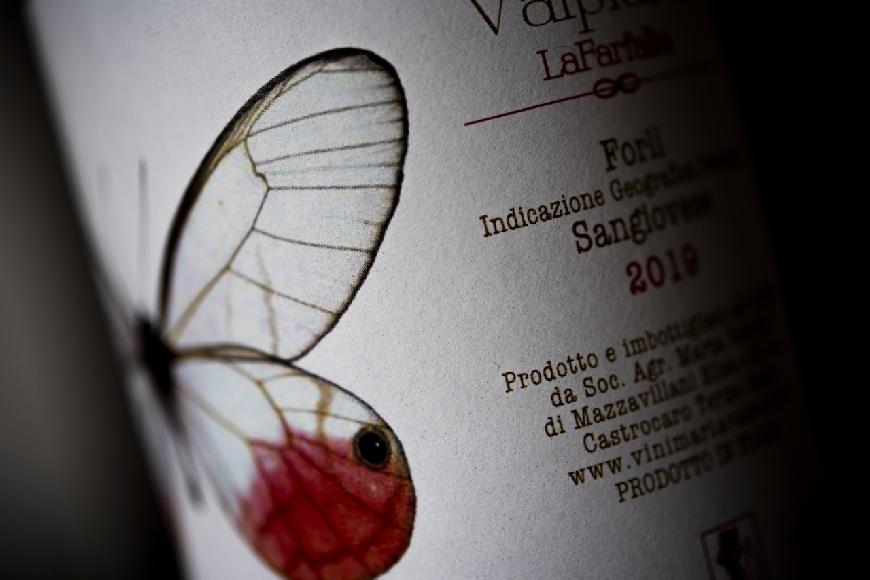 La Farfalla, di Sangiovese Forlì 2019