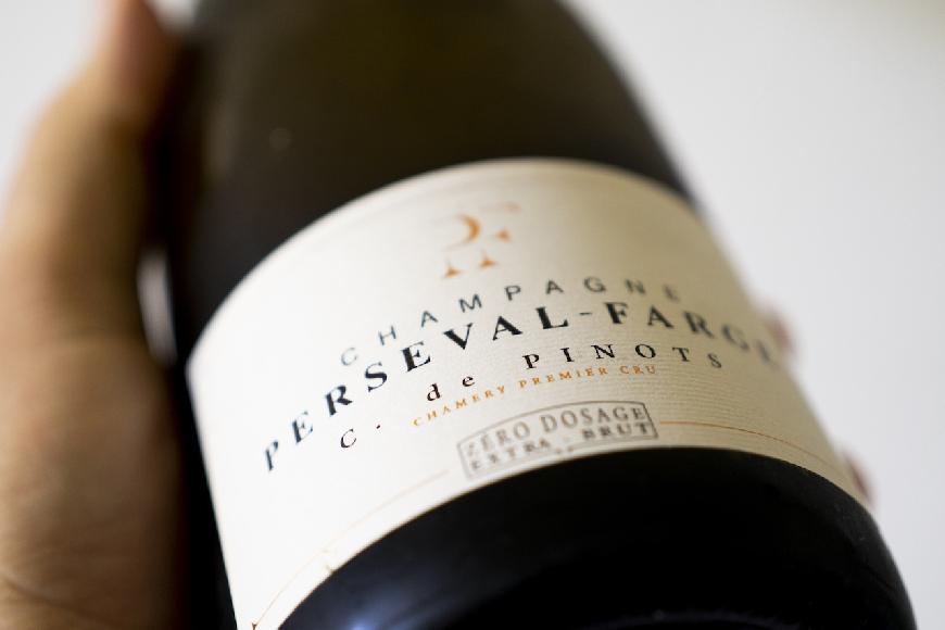 C.de Pinot Champagne, da Perseval-Farge