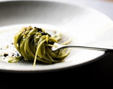 Spaghettini al pesto fresco