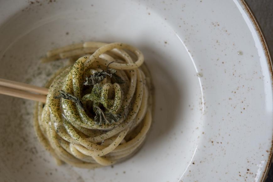 Spaghettonissimi Cavalieri all'aceto