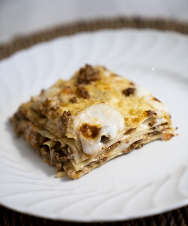 Lasagna Bianca Cinque Strati